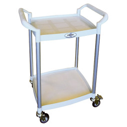 XM2520 - MEDICAL TROLLEY 2 SHELVES