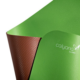 XAI003 - CALYANA PRIME YOGA Lime green %u2013 Nut brown