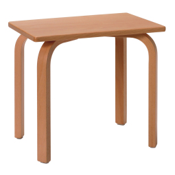 12880 - WOODEN STOOL