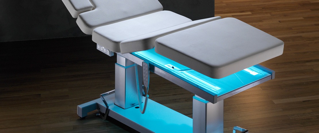 Alux Line Professional Tables For Massage Manipulations