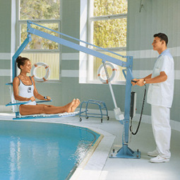 SWIMMING POOL HOISTS