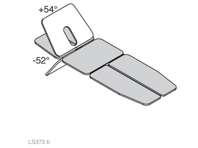 LS373 - SINTHESI SPLIT - head section tilted angles