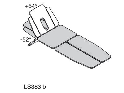 LS383 - SINTHESI PLUS SPLIT - head section tilted angles