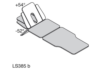 LS385 - SINTHESI PLUS NAR - head section tilted angles